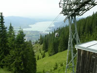 Picture of the Wallberg cable car
